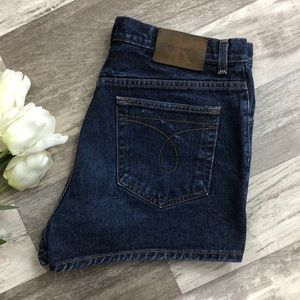 Vintage CK High Rise Shorts IQ09